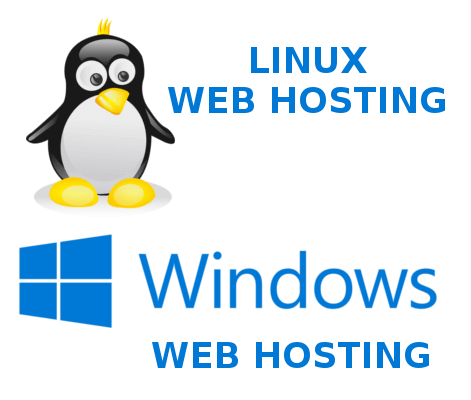 linex web hosting and windows web hosting