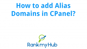 How to use Aliases in CPanel