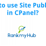 How-to-use-site-publisher-in-cpanel