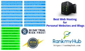 what is the best web hosting for personal websites and blogs